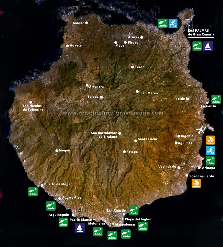 RFGC_Gran Canaria Karte