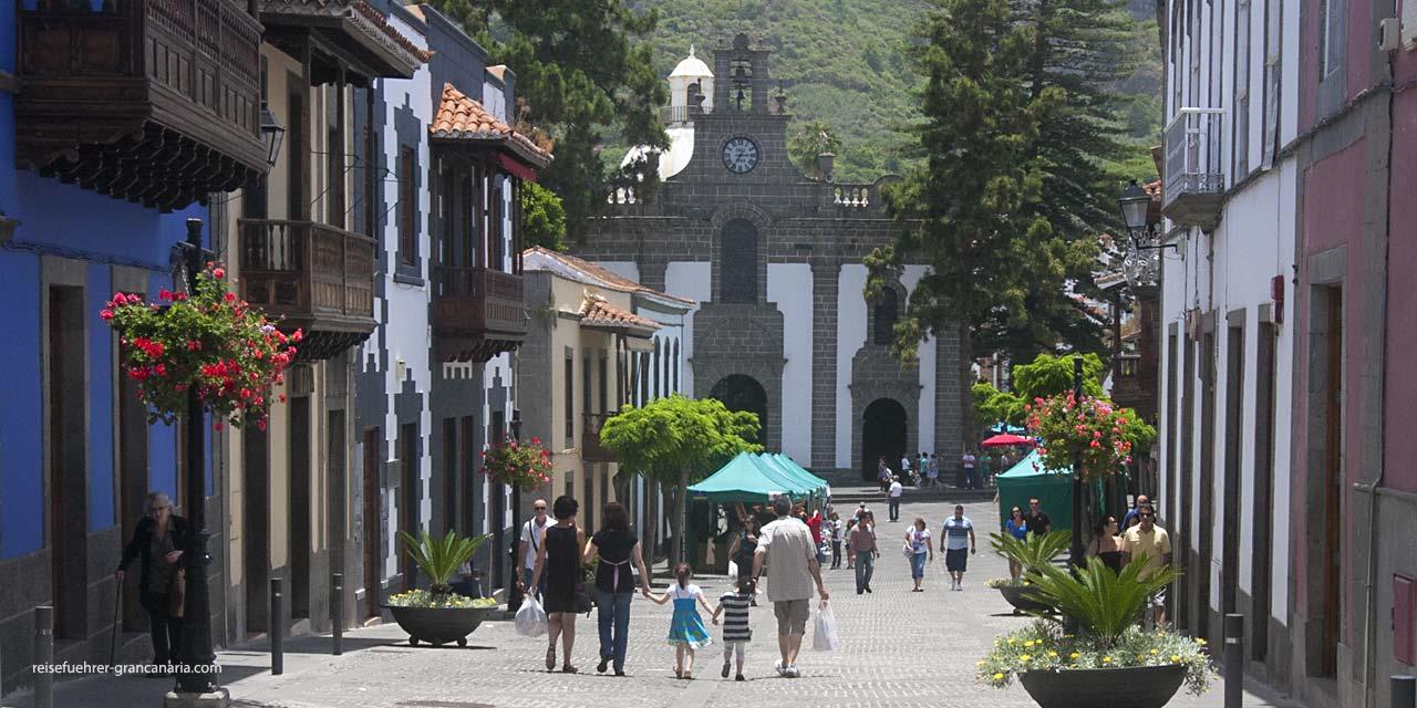 Das Dorf Teror auf Gran Canaria