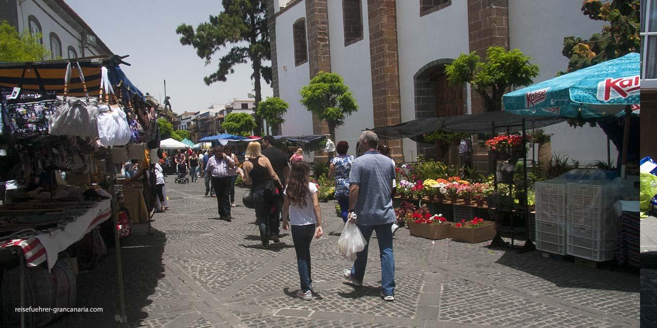 Wochenmarkt in Teror