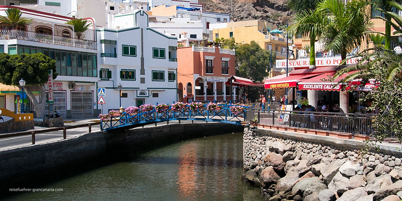 Puerto de Mogan - das kleine Venedig von Gran Canaria