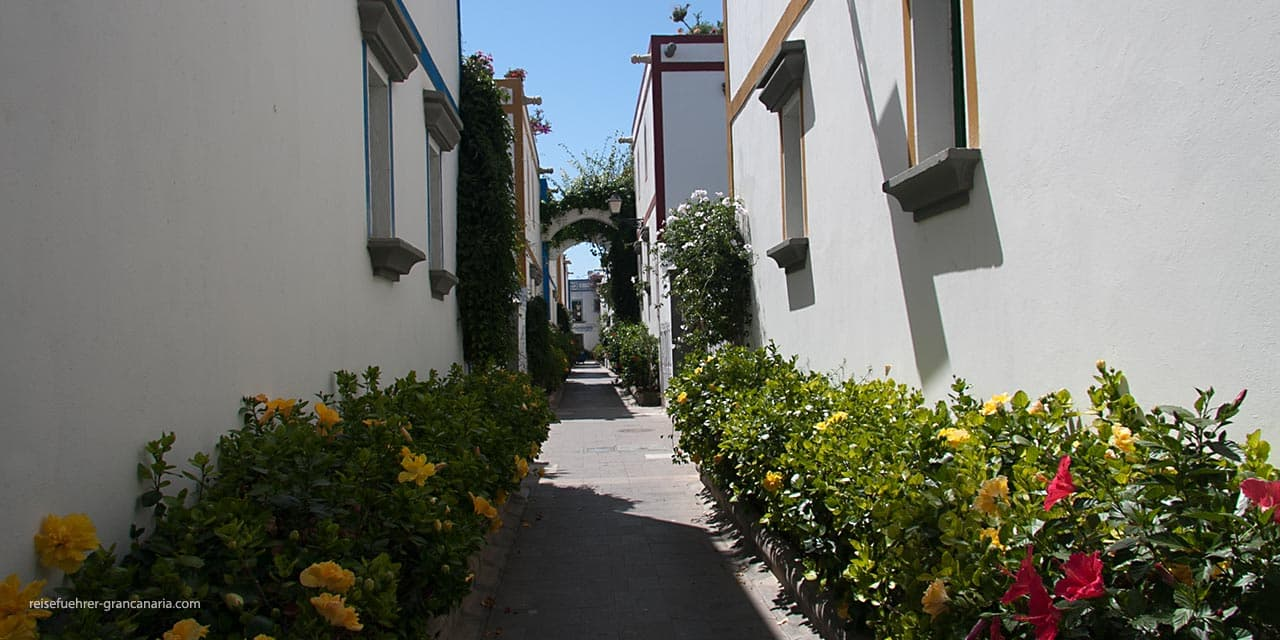 Puerto deMogan - enge Gassen