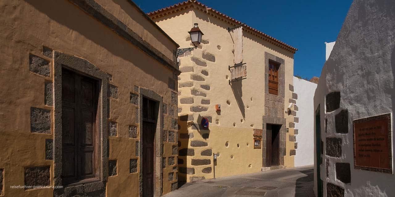 Historische Altstadt in Agüimes, Gran Canaria