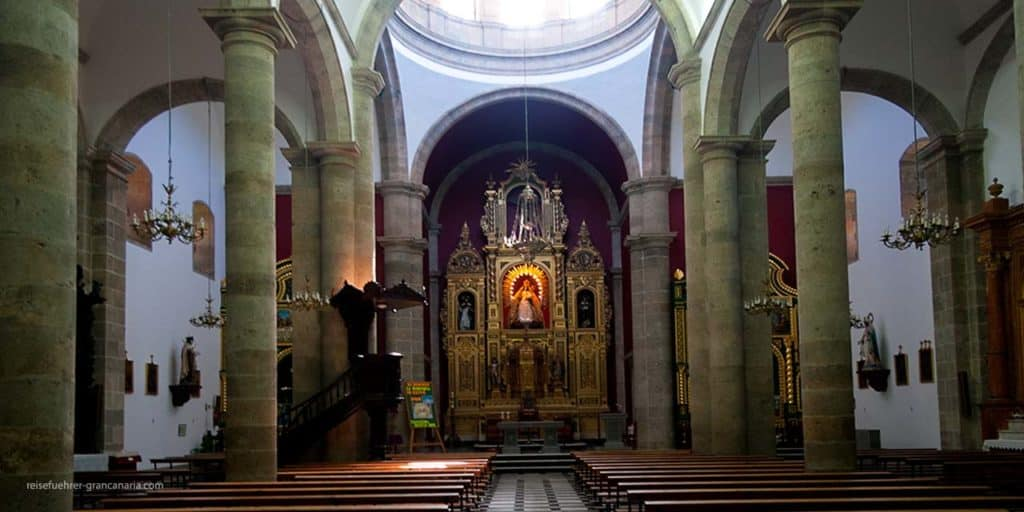 Innenansicht der Kathedrale in Agüimes, Gran Canaria