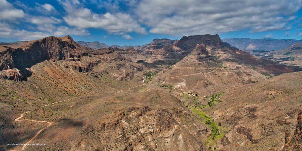 Weg nach Fataga, Gran Canaria