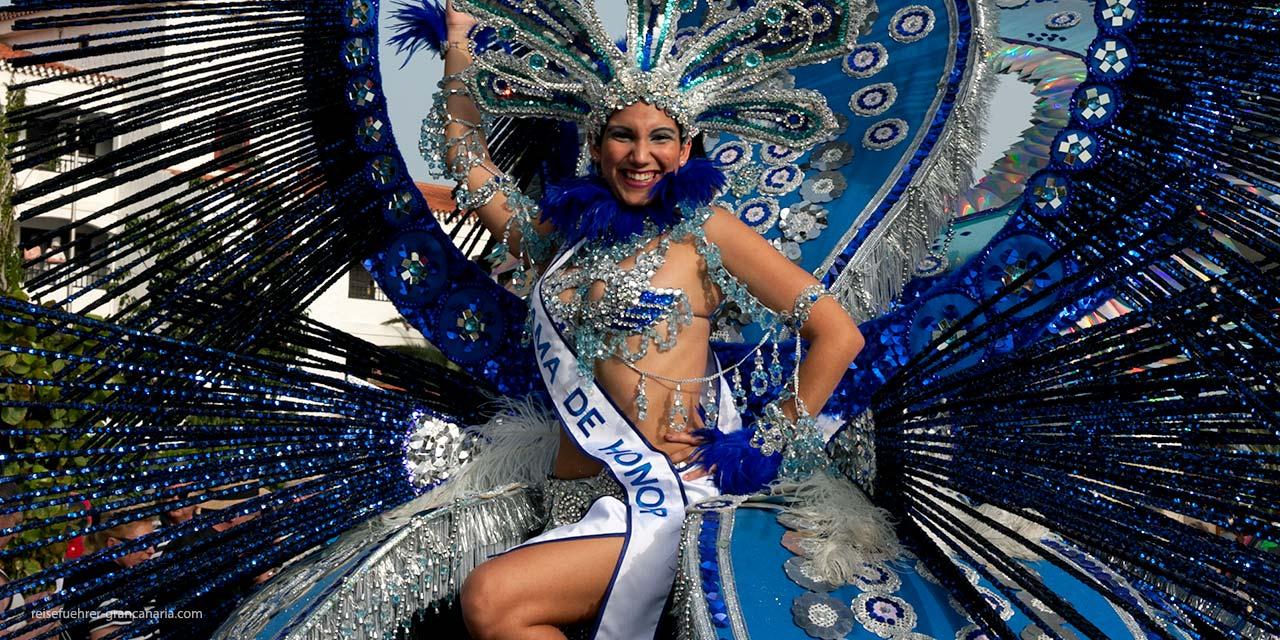 Königin beim Karneval Gran Canaria