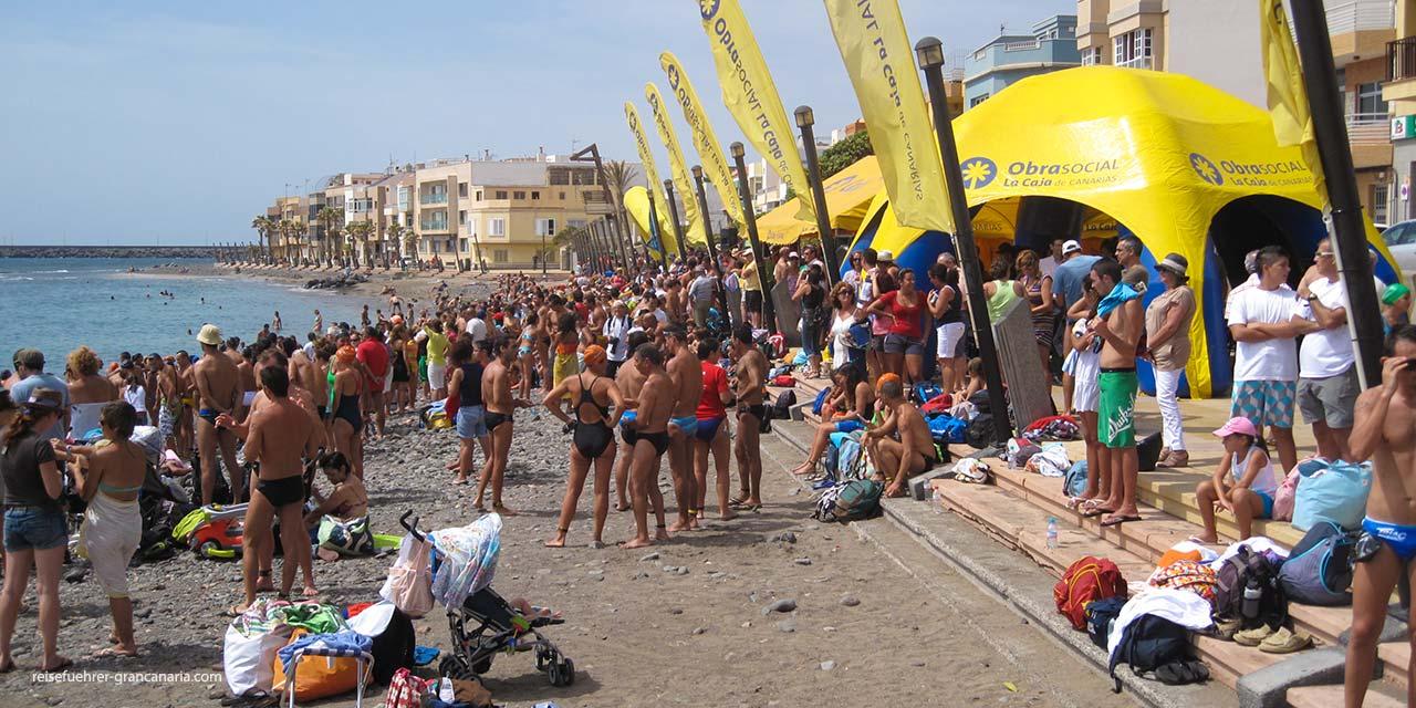 Schwimmfest, Playa de Arinaga