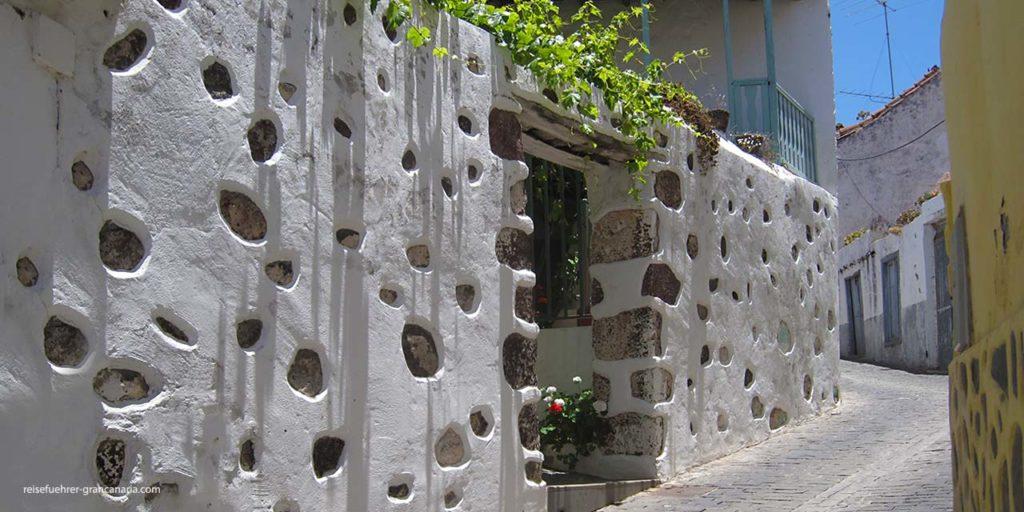 Steinhäuser in Santa Lucia de Tirajana, Gran Canaria