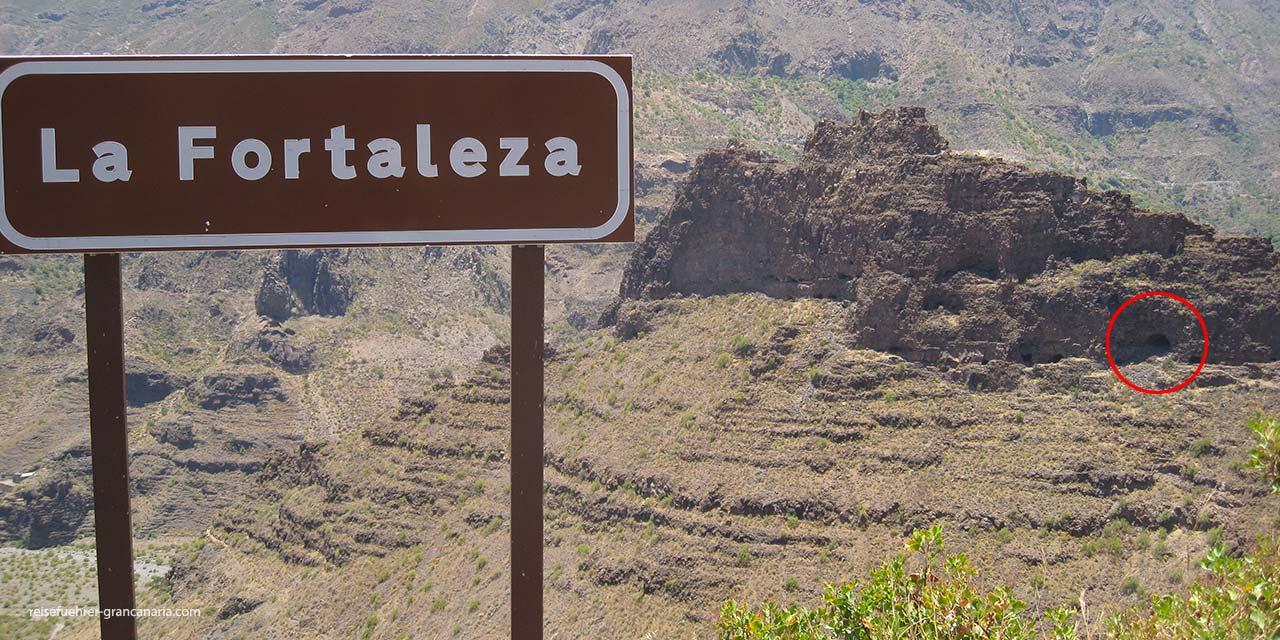 Die Festung von Ansite, bei Santa Lucia de Tirajana, Gran Canaria
