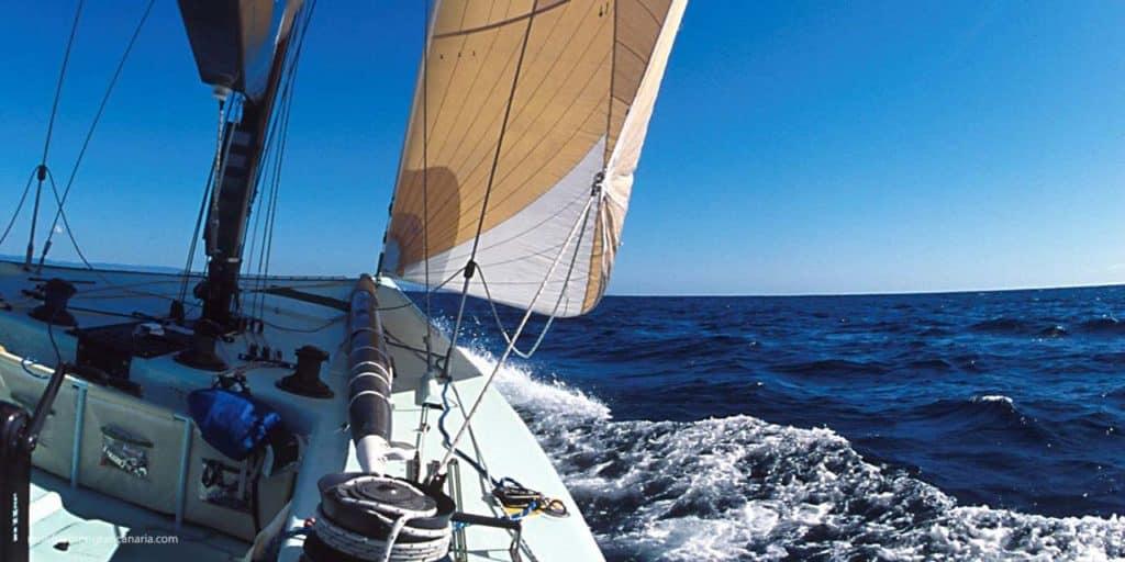 Segeln auf Gran Canaria