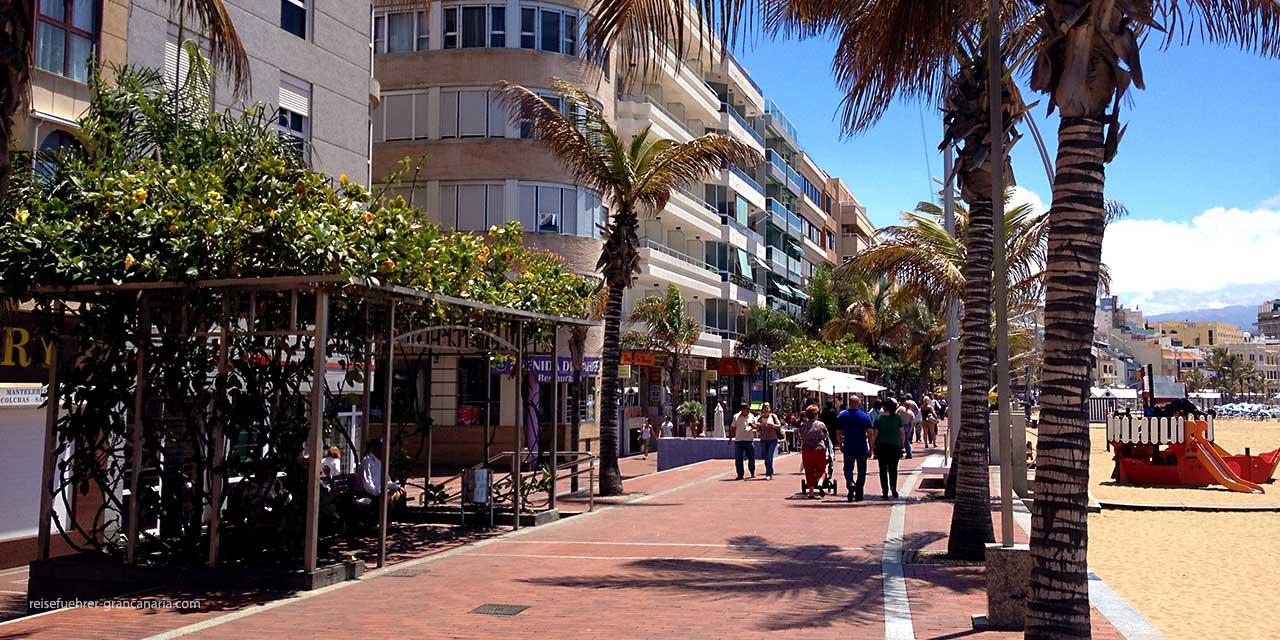 Las Canteras Strand, Las Palms de Gran Canaria