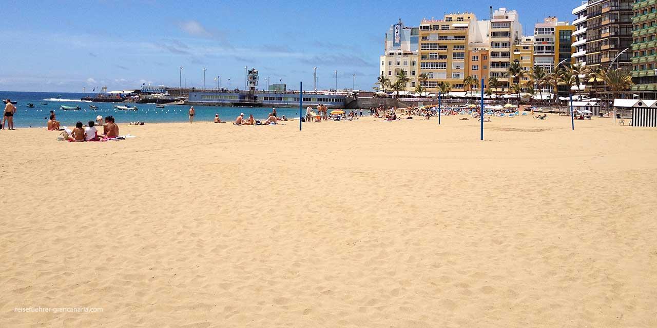 Feinster Sand am Las Canteras Strand, Las Palms de Gran Canaria