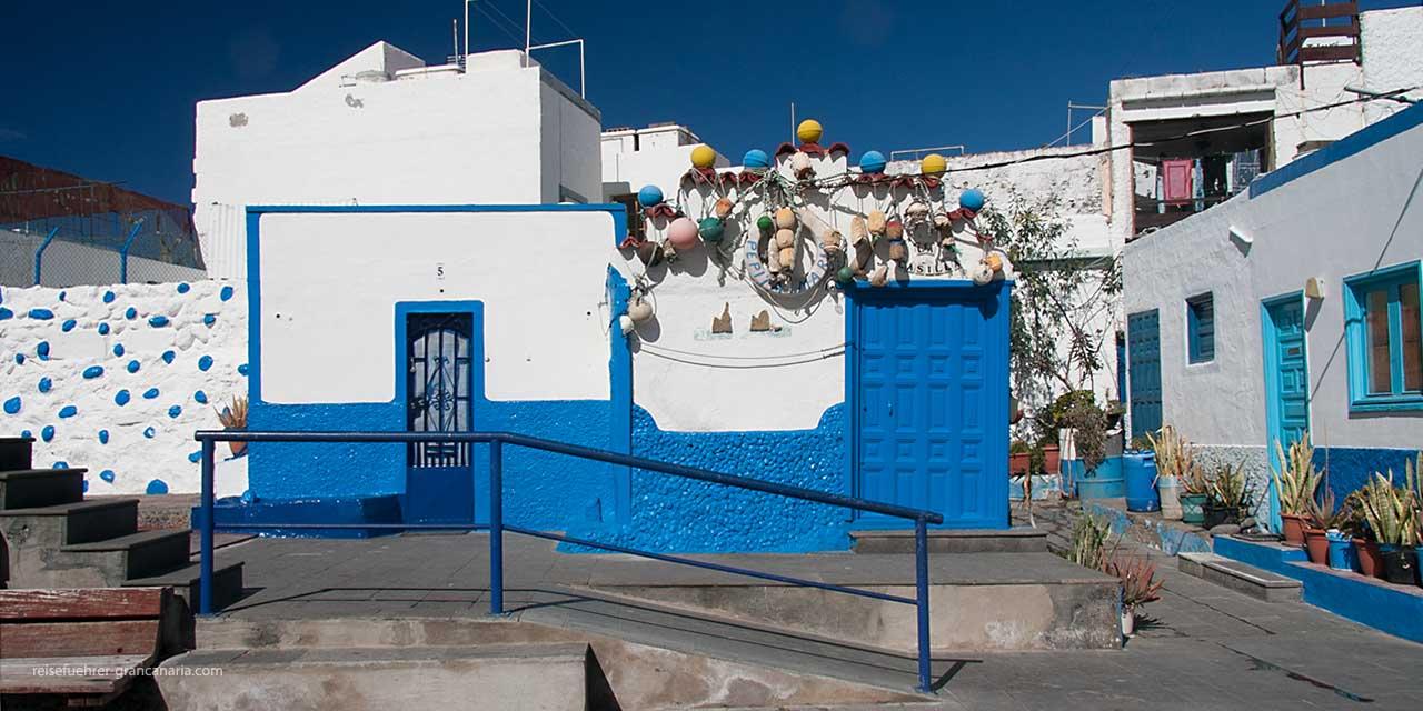Fischerhaus in Puerto de las Nieves