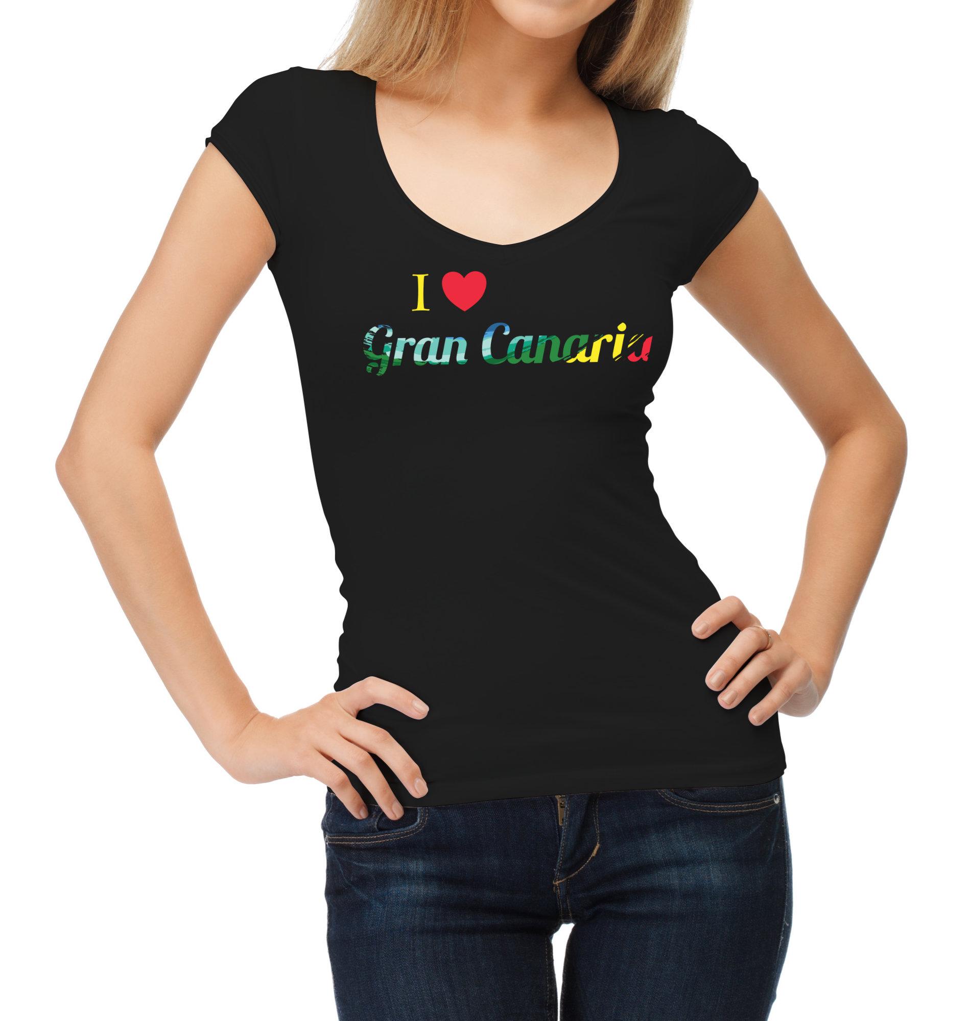tshirt I love Gran Canaria